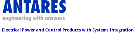 Antares Tdc Electrical Engineering Solutions For The